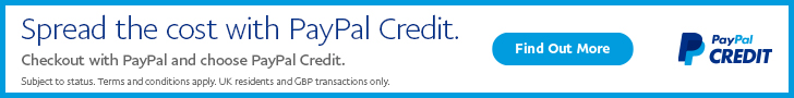 728x90 PayPal Credit Spread the cost static banner