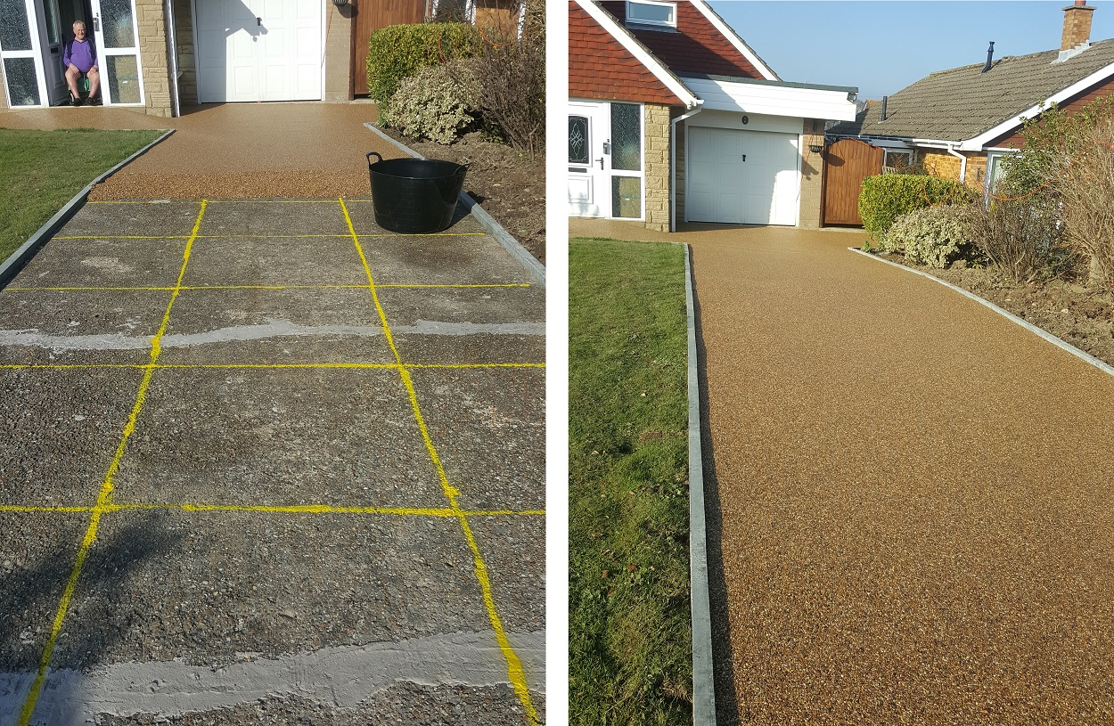Sudwell Trade And Home Kits Resin Bonded Driveways