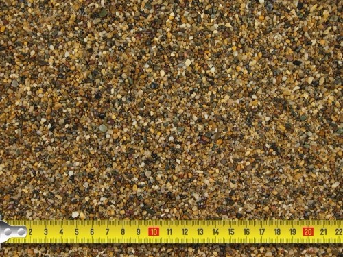 Images of aggregates Resin Bound Drive