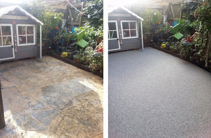 Sudwell trade and home kits resin bonded driveways resin beforeandafter181250g solutioingenieria Images