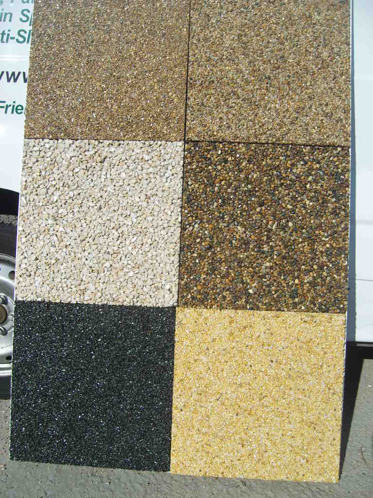 Resin Bound Permeable Paving Slabs